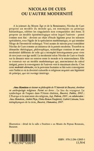 4eme Nicolas de Cues ou l'autre modernité
