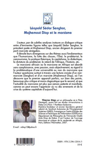 4eme Léopold Sédar Senghor, Majhemout Diop et le marxisme