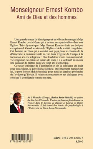 4eme Monseigneur Ernest Kombo