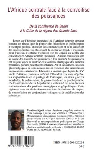 4eme L'Afrique centrale face à la convoitise des puissances