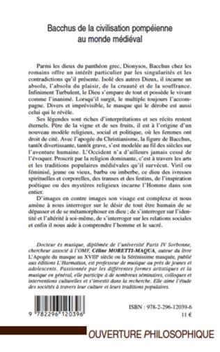 4eme Bacchus de la civilisation pompéienne au monde médiéval