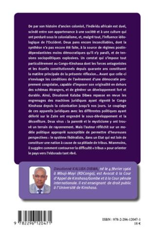 4eme Démocratie et développement au Congo-Kinshasa