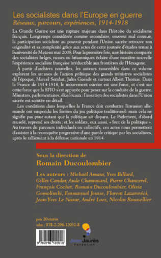 4eme Les socialistes dans l'Europe en guerre