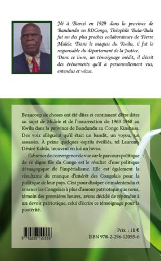 4eme Pierre Mulele et le maquis du Kwilu en R.D. Congo