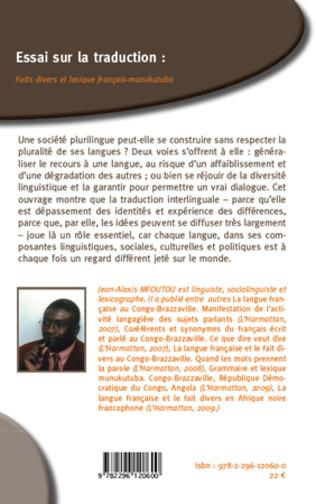 4eme Essai sur la traduction