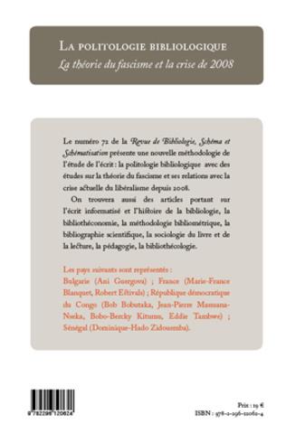 4eme La politologie bibliologique