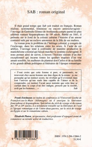 4eme SAB : roman original