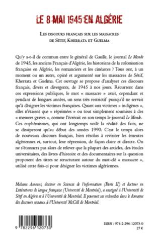 4eme Le 8 mai 1945 en Algérie