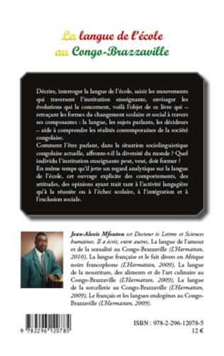 4eme La langue de l'école au Congo-Brazzaville