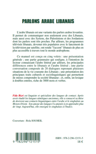4eme Parlons arabe libanais