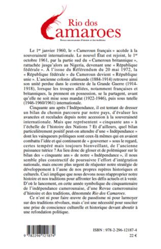 4eme Réflexions sur et autour de l'Indépendance camerounaise