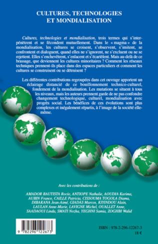 4eme Cultures, technologies et mondialisation
