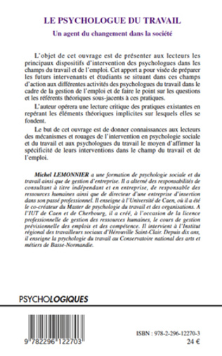 4eme Le psychologue du travail