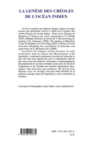 4eme La genèse des créoles de l'Océan indien