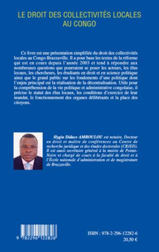 4eme Le droit des collectivités locales au Congo