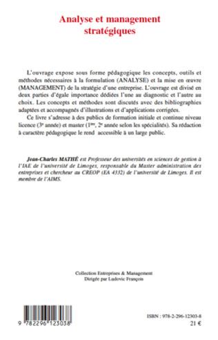 4eme Analyse et management stratégiques