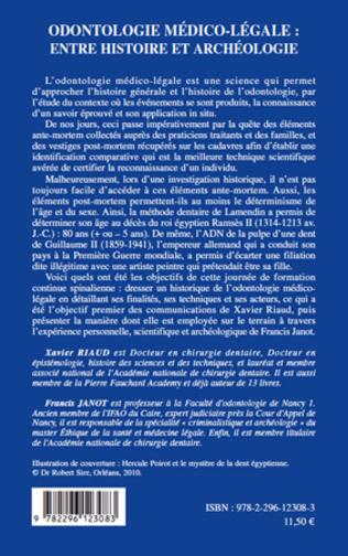 4eme Odontologie médico-légale :