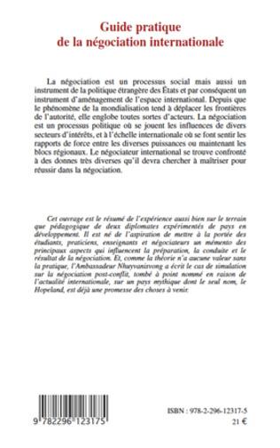 4eme Guide pratique de la négociation internationale
