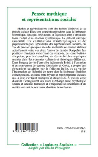 4eme Pensée mythique et représentations sociales