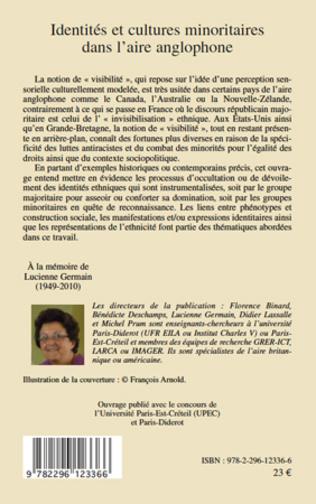 4eme Identités et cultures minoritaires dans l'aire anglophone