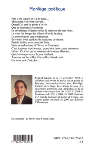 4eme Florilège poétique