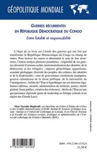 4eme Guerres récurrentes en République Démocratique du Congo