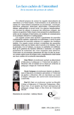 4eme Les faces cachées de l'interculturel