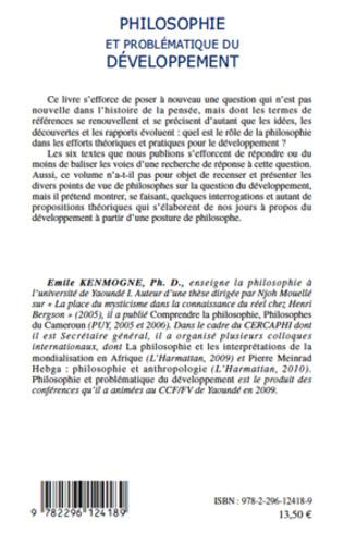 4eme Philosophie et problématique du développement