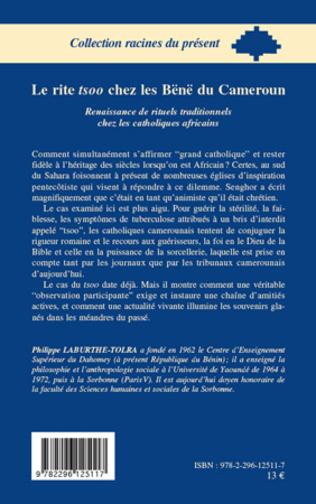 4eme Le rite tsoo chez les Bënë du Cameroun
