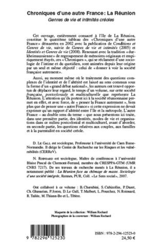 4eme Chroniques d'une autre France : La Réunion