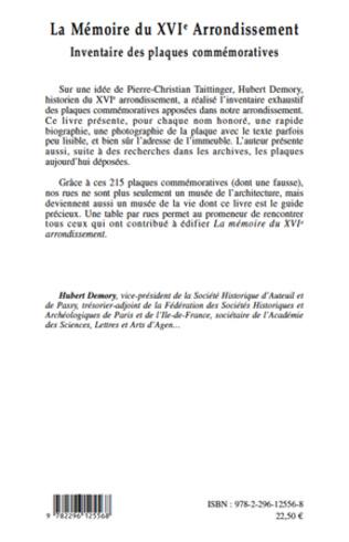 4eme La Mémoire du XVIe arrondissement