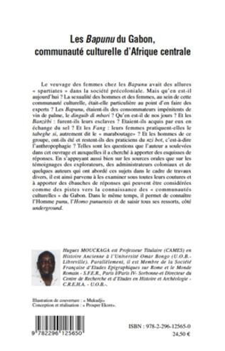 4eme Les Bapunu du Gabon, communauté culturelle d'Afrique centrale