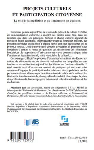 4eme Projets culturels et participation citoyenne