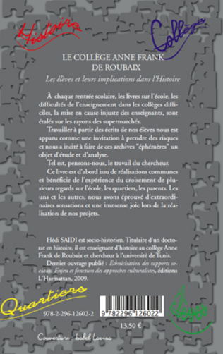 4eme Le Collège Anne Frank de Roubaix