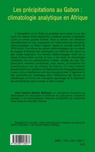 4eme Les précipitations au Gabon : climatologie analytique en Afrique