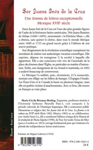 4eme Sor Juana Inès de la Cruz