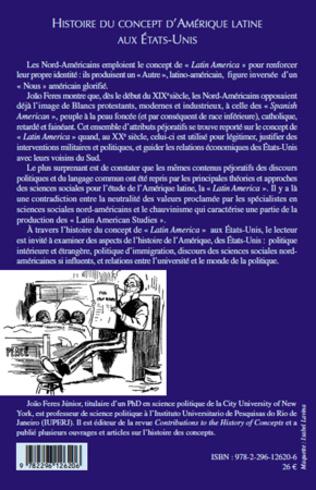4eme Histoire du concept d'Amérique latine aux Etats-Unis
