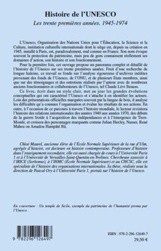 4eme Histoire de l'UNESCO