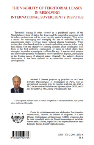 4eme The Viability of Territorial Leases in Resolving International Sovereignty Disputes