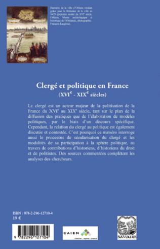 4eme Clergé et politique en France (XVIe - XIXe siècles)