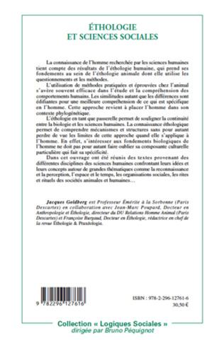 4eme Ethologie et sciences sociales