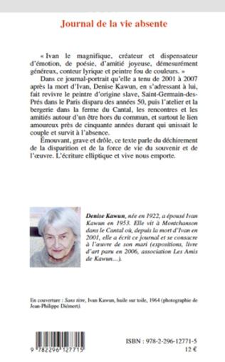 4eme Journal de la vie absente