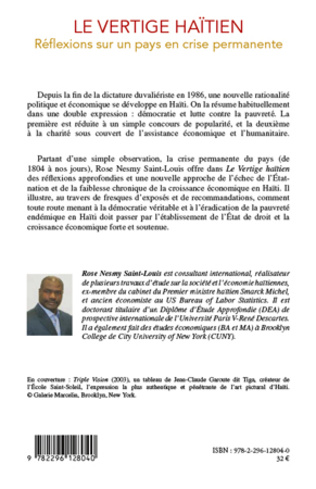 4eme Le vertige haïtien