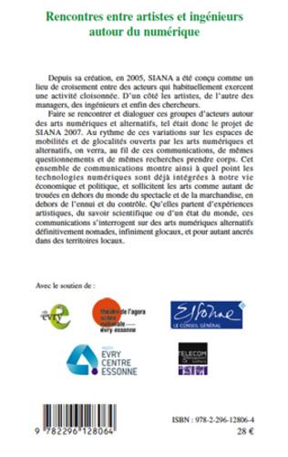 4eme Rencontres entre artistes et ingénieurs autour du numérique