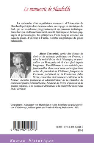 4eme Le manuscrit de Humboldt