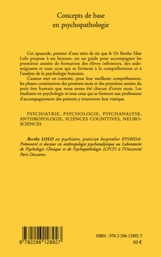 4eme Concepts de base en psychopathologie