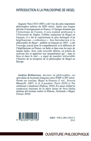 4eme Introduction à la philosophie de Hegel