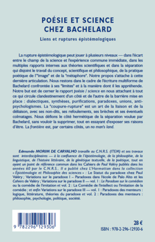 4eme Poésie et science chez Bachelard