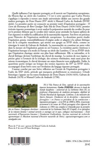 4eme Naissance et renaissance de l'équitation portugaise