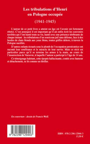 4eme Les tribulations d'Henri en Pologne occupée (1941-1945)